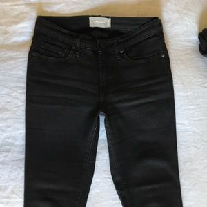 Everlane Authentic Stretch Mid-Rise Skinny Jeans